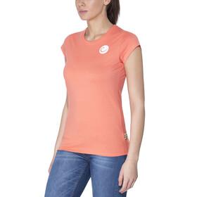 Edelrid Highball t-shirt Dames oranje